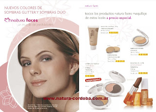 maquillaje natura faces
