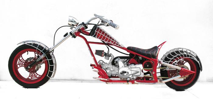 choper motorcycle modification