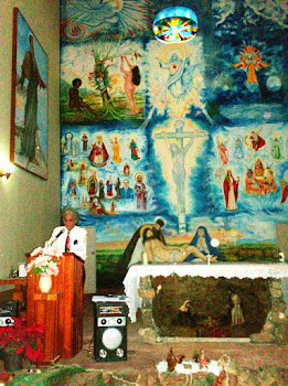 Mural para la Iglesia de Lezama de Orituco (Edo. Guarico)