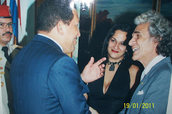 Visita del Presidente Hugo Rafael Chavez Frias