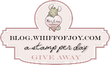 Stamp a Day Giveaway