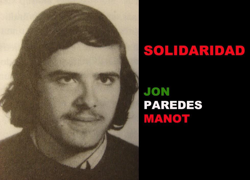 "SOLIDARIDAD JON PAREDES ""TXIKI"""