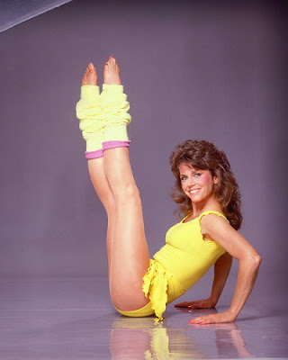 Jane Fonda Workout Photos. Jane Fonda was the Queen of