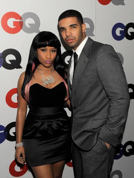 After hosting separate New Years parties in Miami, Nicki Minaj and Drake