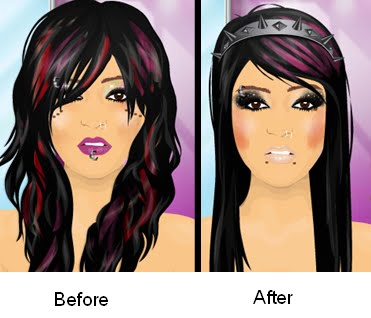 Black Hair With Purple Highlights Underneath Images & Pictures - Becuo