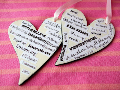 Valentine Crafts on My Creative Stirrings  Valentine Couple Craft