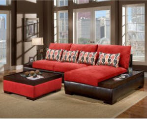 Usher Home: Living room set