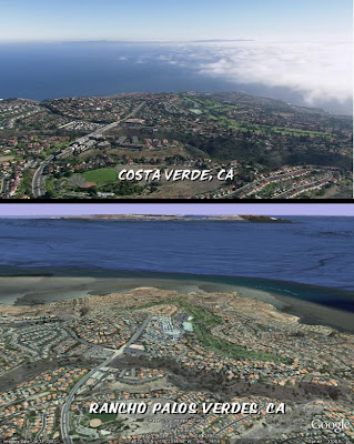 Heroes Bennet family town of Costa Verde is Rancho Palos Verdes in CA