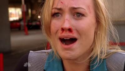 Yvonne Strahovski as Sarah Walker on Chuck