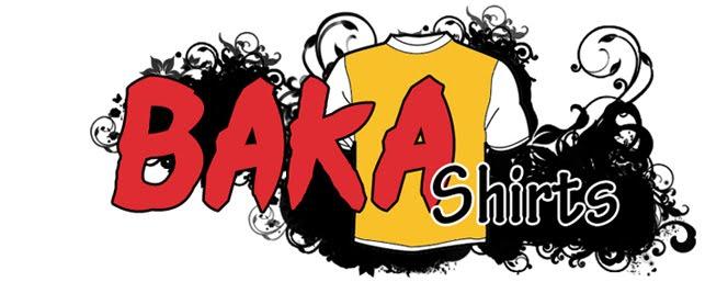 T-Shirts para Otakus e não só! Bakashirts_logo1