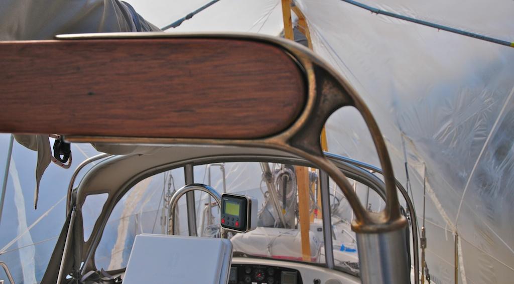 Boom Gallows Hudson 50 Cruisers amp Sailing Forums