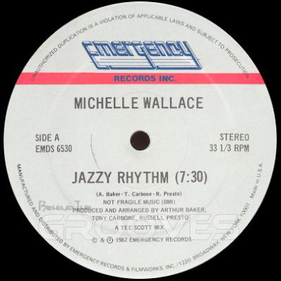Michelle Wallace Jazzy Rhythm