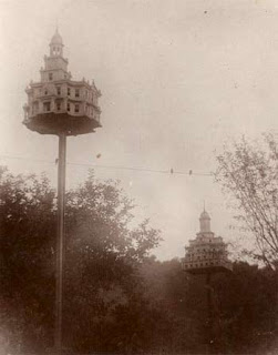 Historic Purple Martin Bird Houses