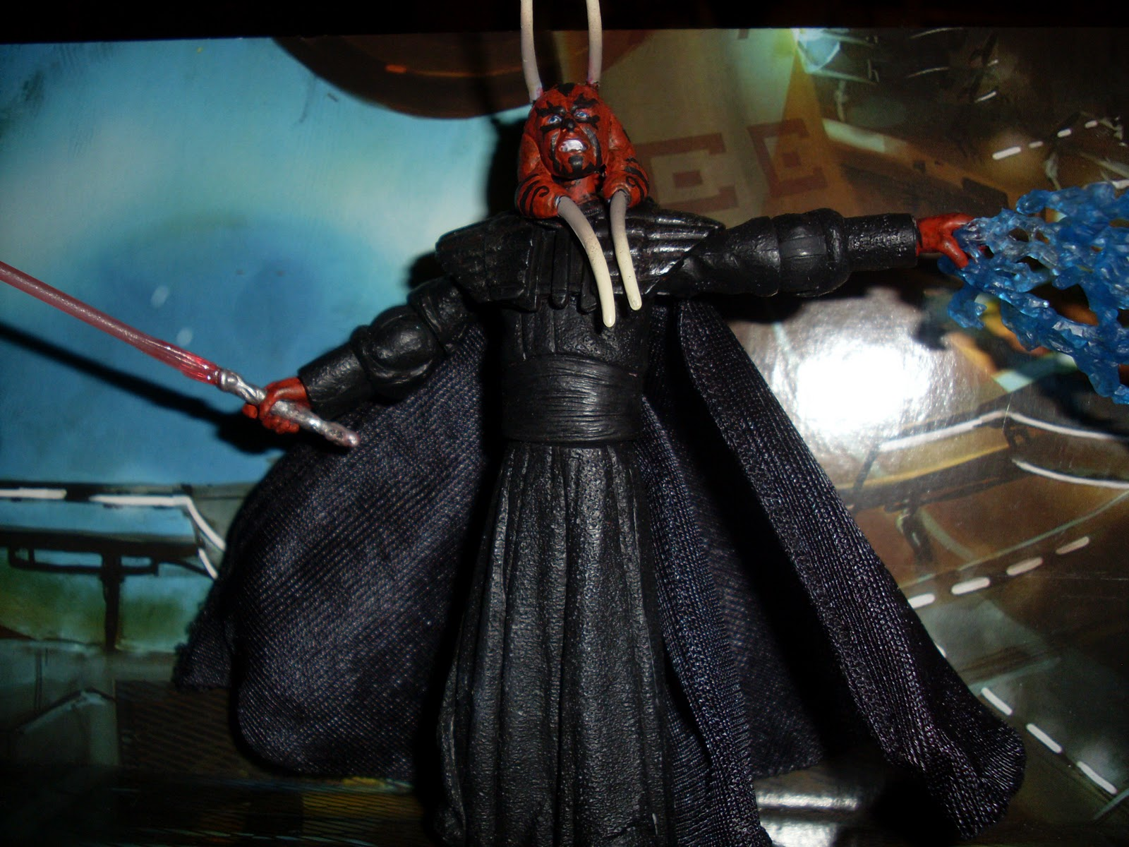 Rustyscustoms Exar Kun Concept Jedi Swamp Monster Iva