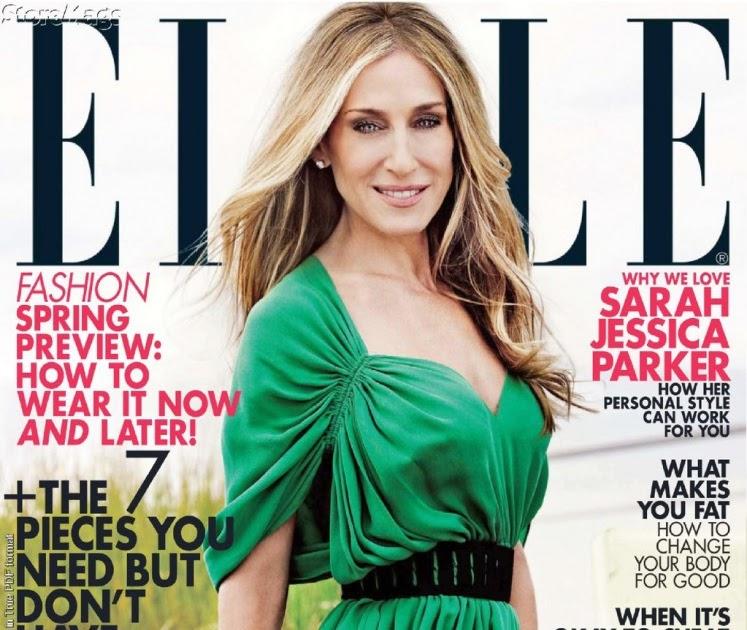Sarah Jessica Parker sexy hot on Elle Magazine photoshoot