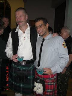 Anders & Miguel con kilt