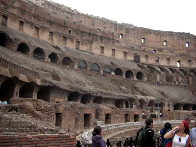 Gradas del Colosseum