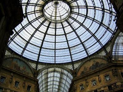 Cúpula de la Gallería Vittorio Emanuele.