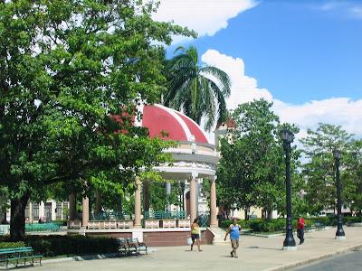 Pérgola del Parque José Martí