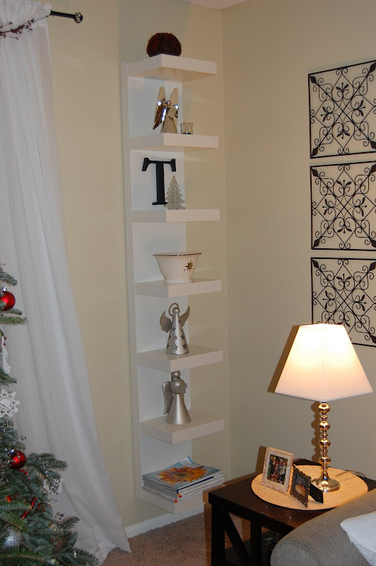 White Floating Shelves IKEA