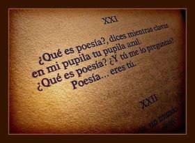 """""""La poesía no es de quien la escribe sino de quien la lee"""""""