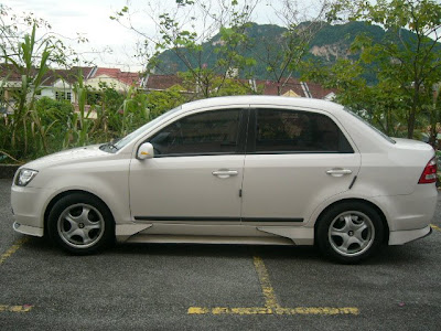 Body Kit Saga Blm. Proton Saga BLM Body Kit.