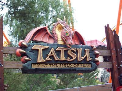 Tatsu Six Tatsu Six Flags Magic
