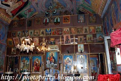 Monastery St.Gjorgjija near the village of Prisad