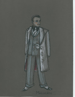 Costume Designs for Rice University's The Threepenny Opera