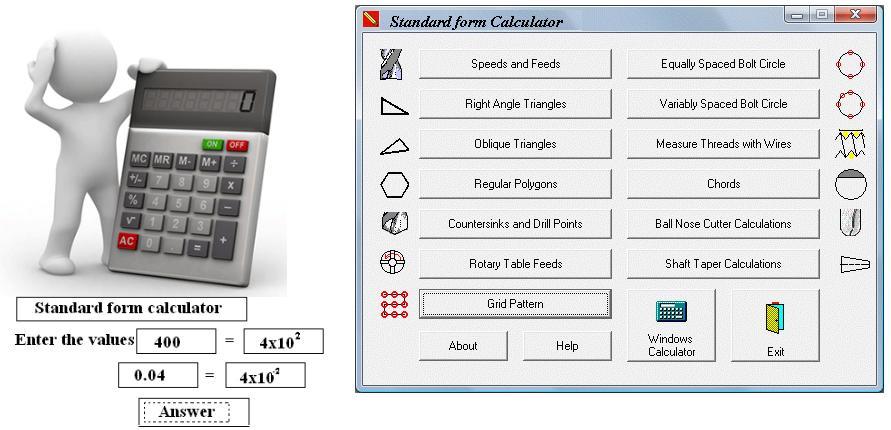 Standard Form Calculator Math Brilliance