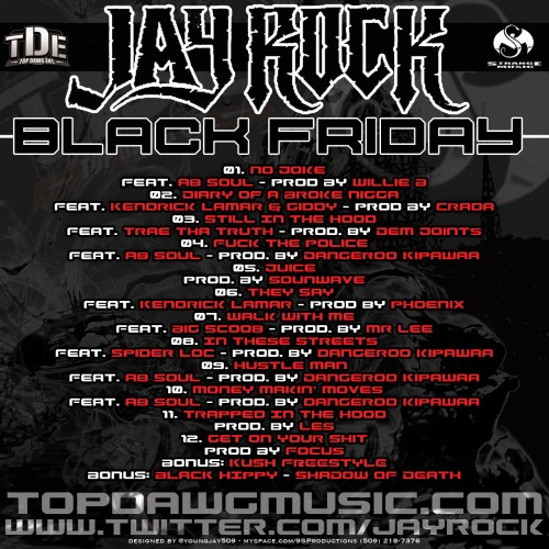 jay rock black friday cover back