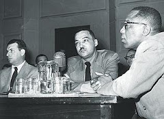 Coleman Young testifies before House Un-American Activities Committee