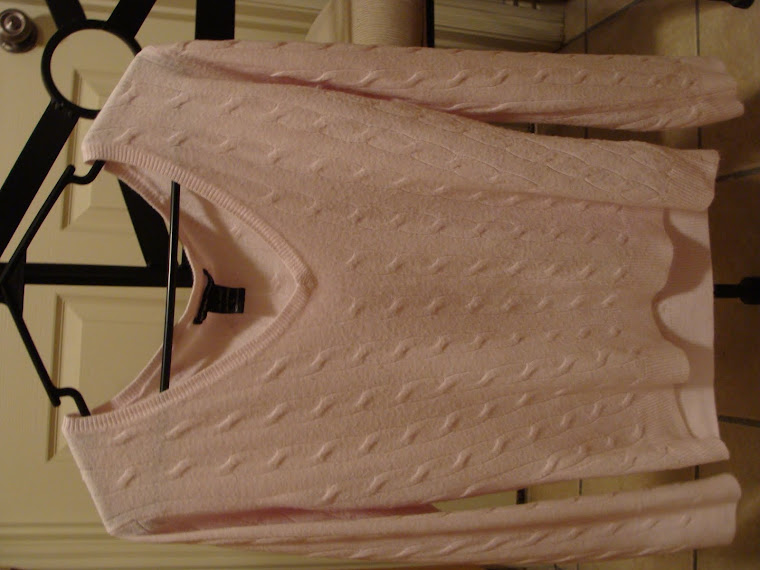 Long Sleeve Pink sweater