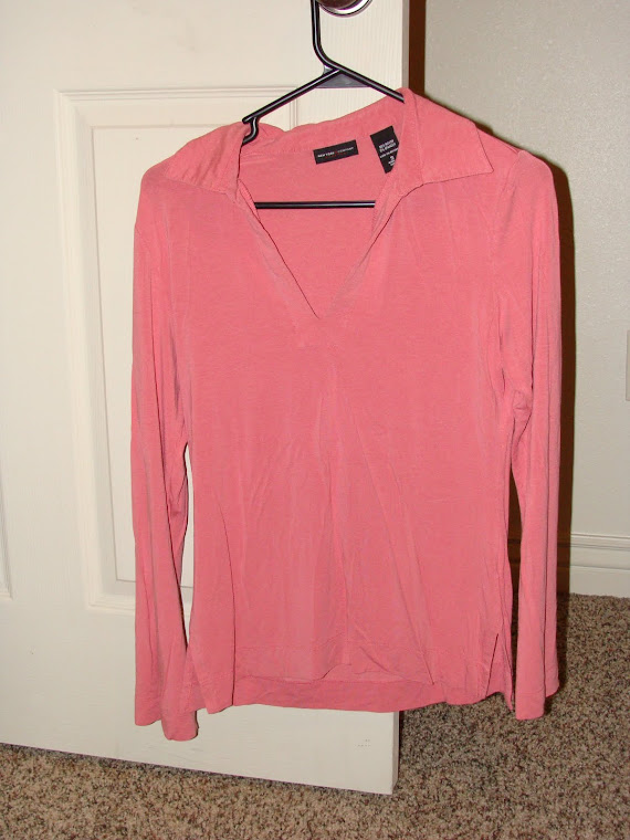 Pink Long sleeve Stretch material