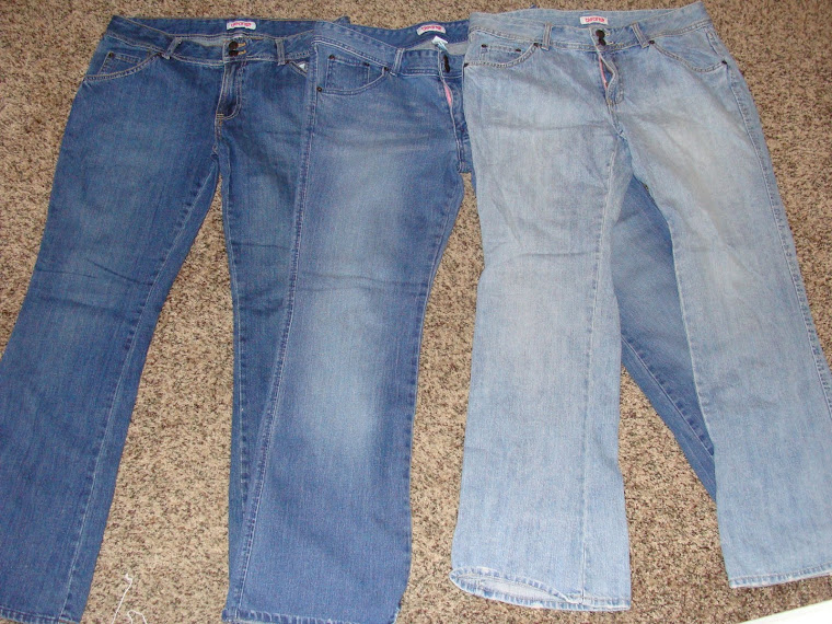 Front of Jeans flare