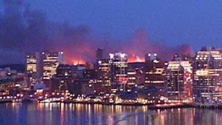 Halifax NOVA Scotia Fire