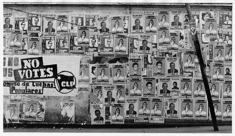 Campaña electoral 1973. Caracas, Venezuela
