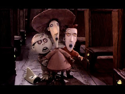 Lock, Shock and Barrel are scared by Jack's face