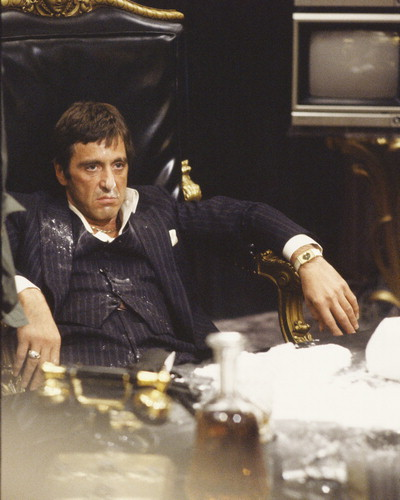 Al Pacino in SCARFACE!!!!