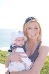 min datter og meg