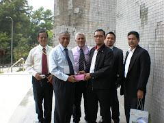 Salam-salam dengan Delegasi Sri Langka