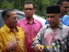 Bersama YB Tan Sri Nor - Meneteri Kewangan 2 & Dato' Seri Yusof Latiff