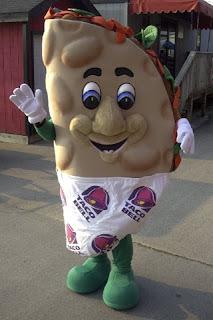 Taco Bell mascot