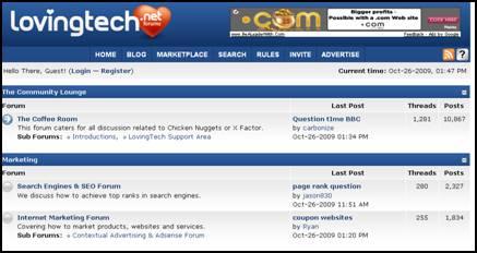 Lovingtech.net Forum