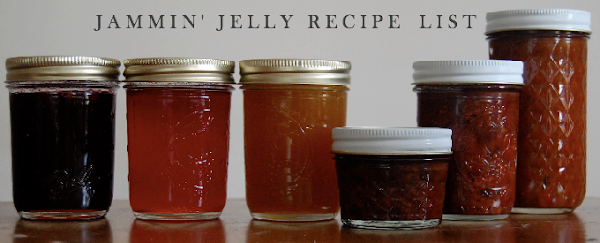 Jammin' Jelly Recipe List