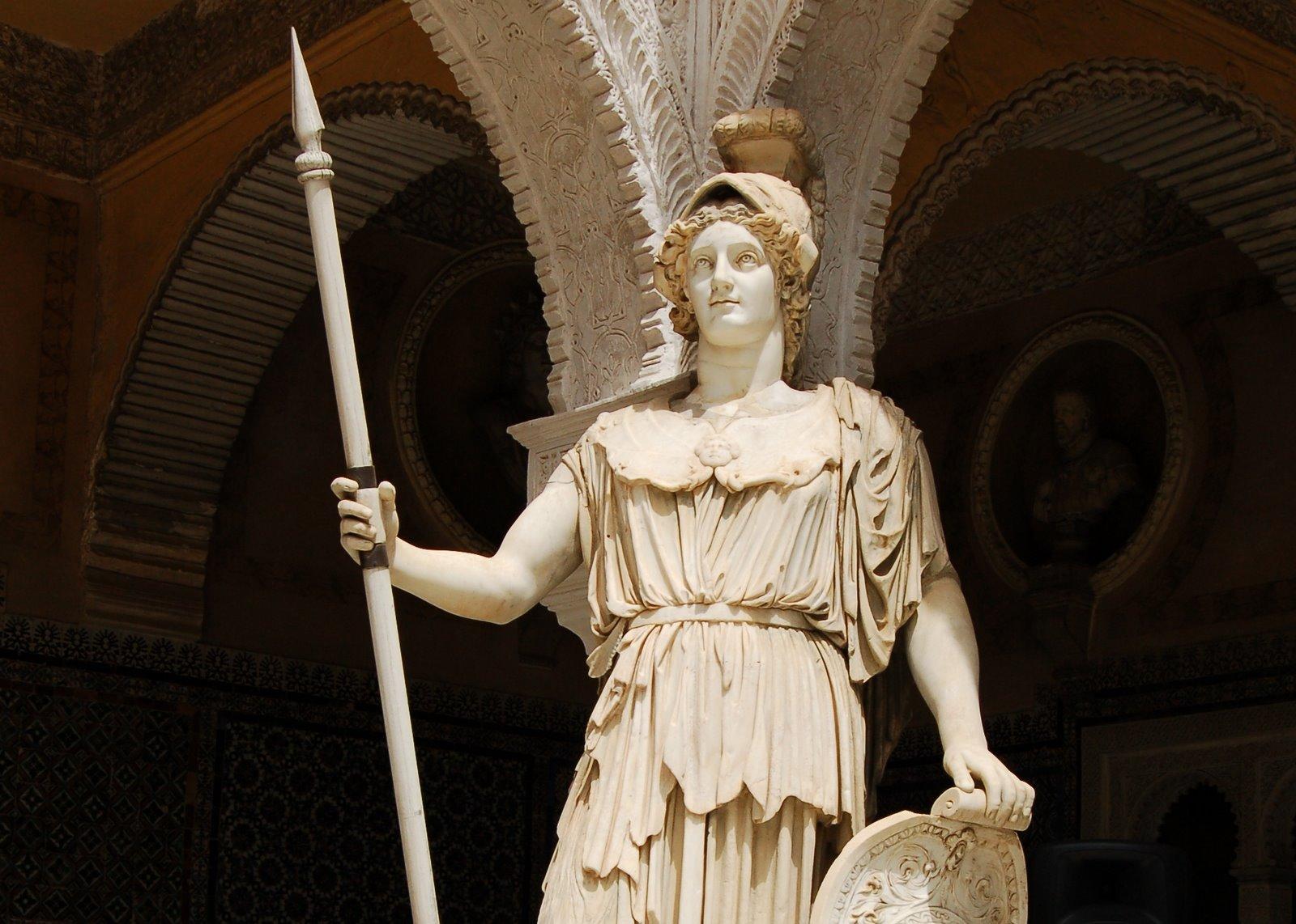 Atenea image for En la mitologia griega la reina de las amazonas