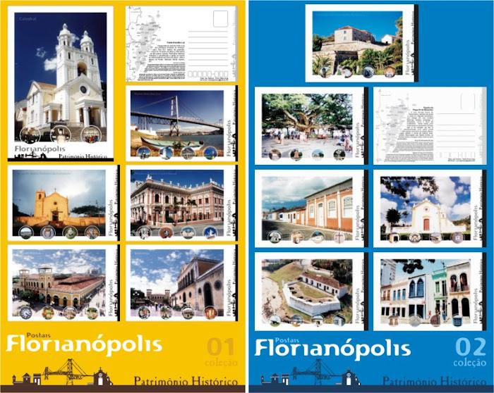 Coleções de Postais de Patrimônio Histórico-Adquira a sua coleção com o autor 48-99714143