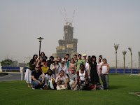 Student Visit:        Burj Dubai
