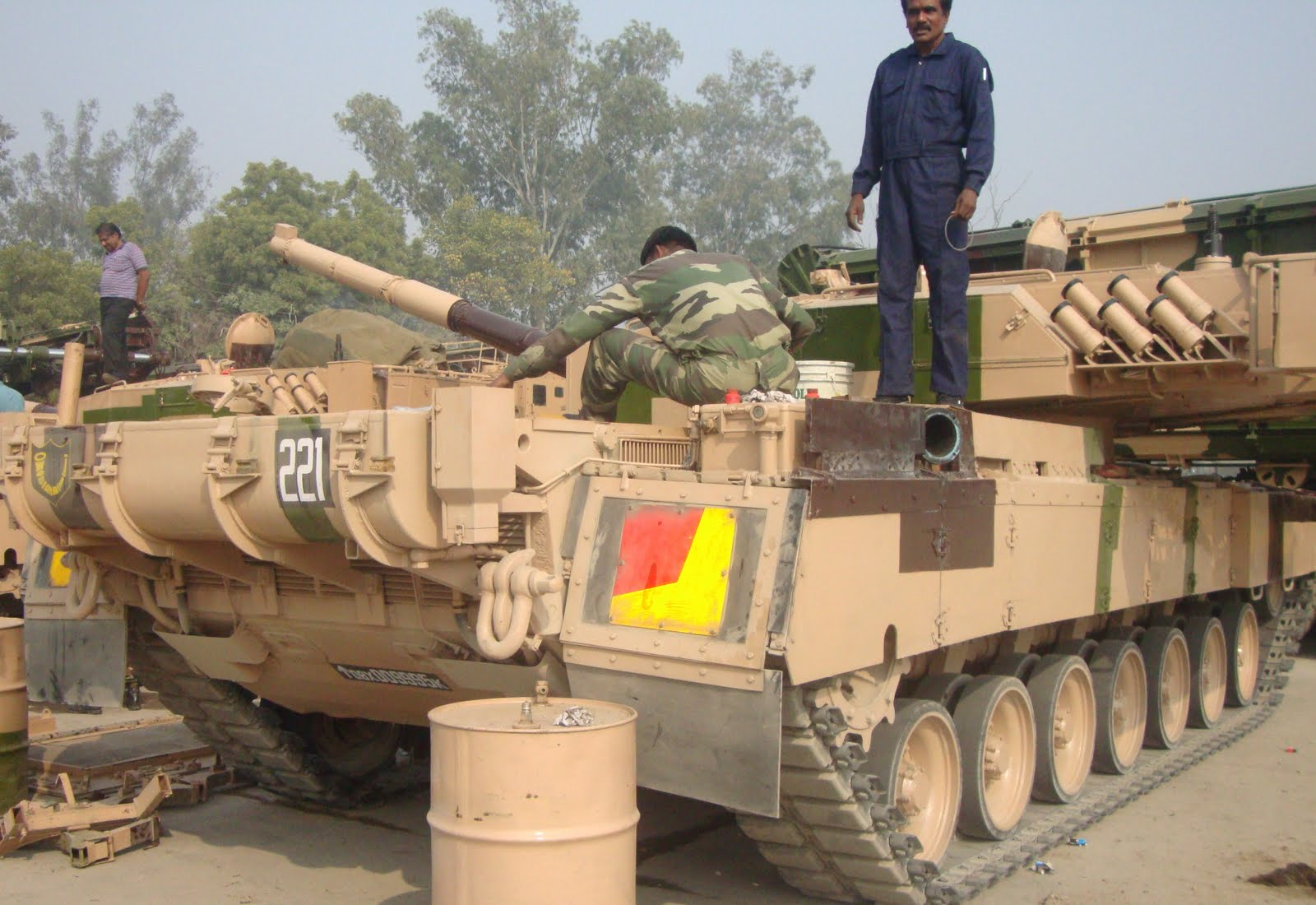 Arjun Main Battle Tank (MBT)