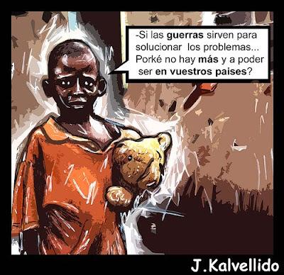 trabajo - Trabajo de alto riesgo en África Guerra+soluci%C3%B3n